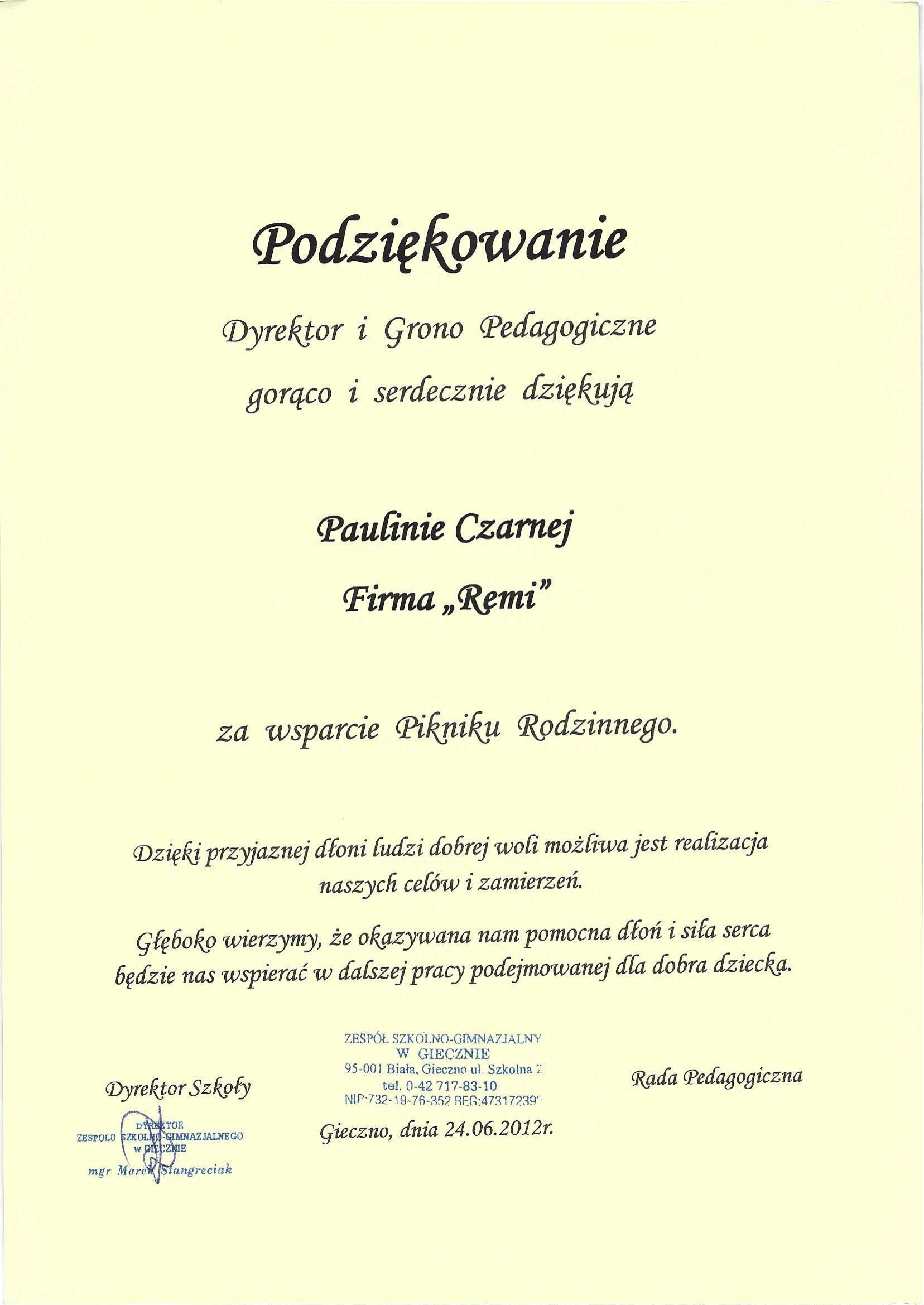 Zespół Szkolno-Gimnazjalny, Gniezno