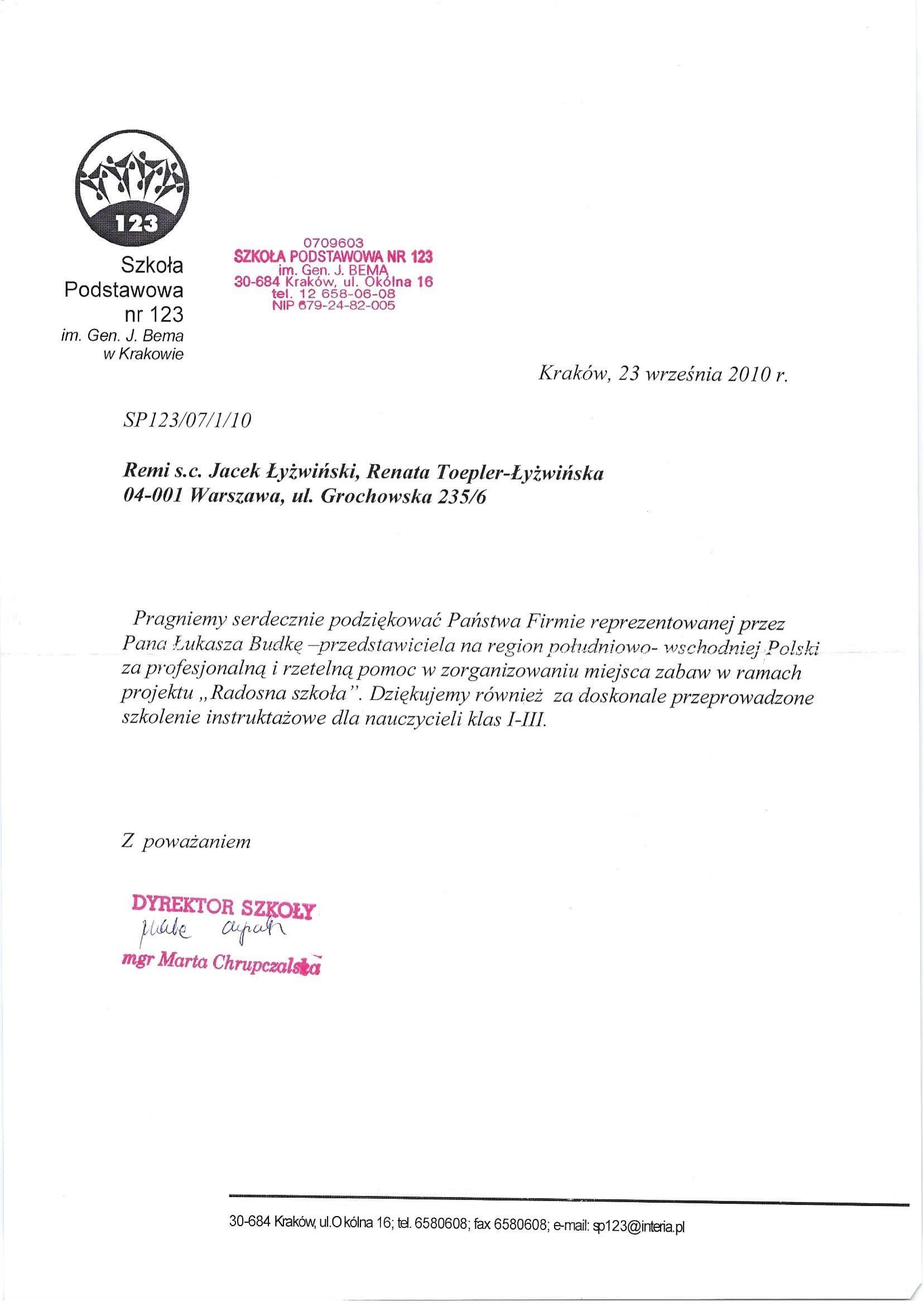 Radosna szkoła Kraków