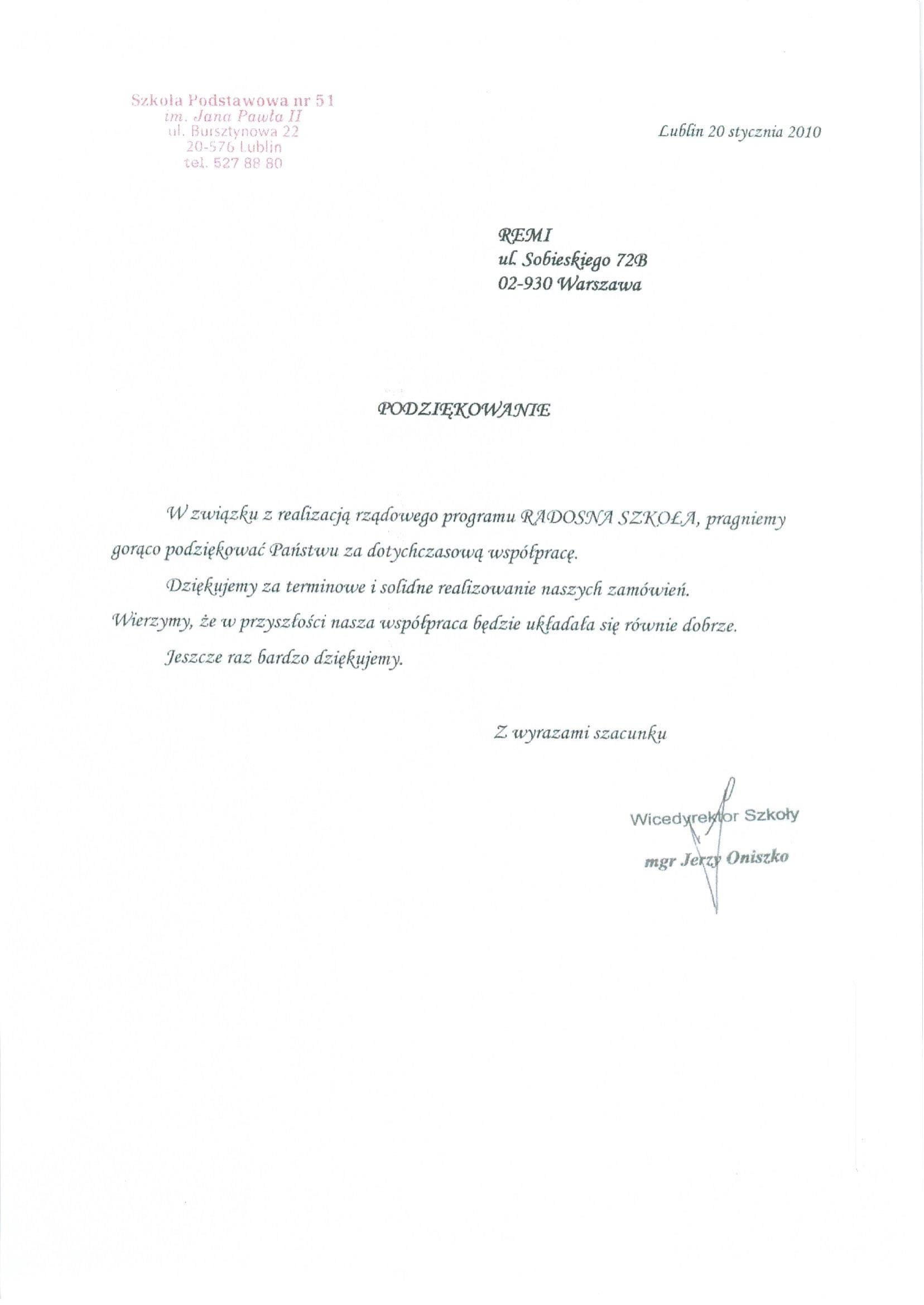 Szkoła Podstawowa nr 51 Lublin