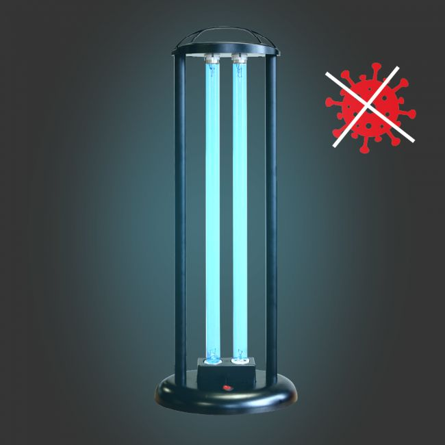 LAMPA UV-C PEŁNA DEZYNFEKCJA